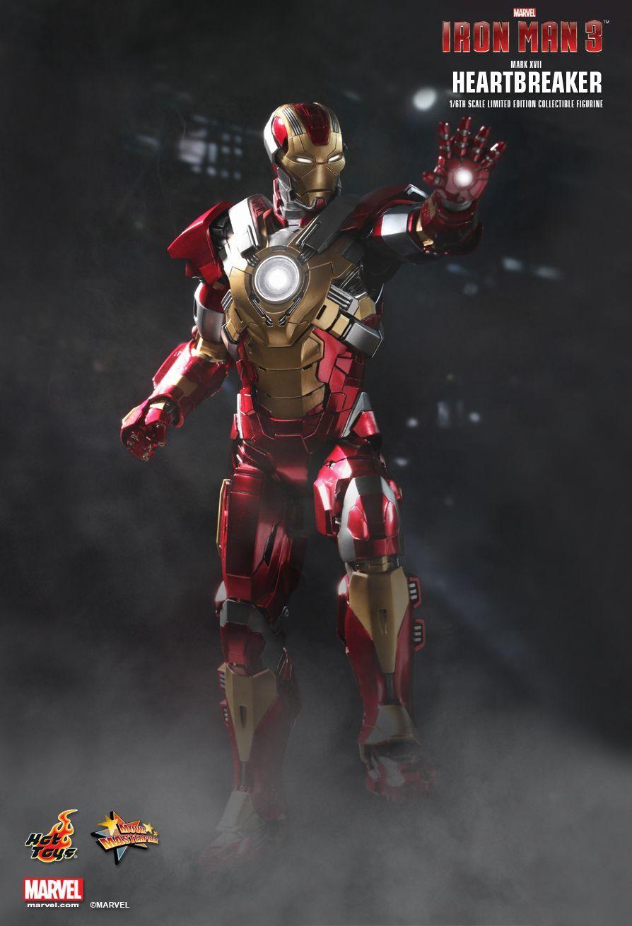 Iron man 3 mark xvii heart breaker 1