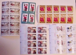 Lot of 40 Assorted USPS Unused Postage Stamps Christmas - $19.99