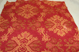 Vintage Berry Persimmon Coverlet 20 x 24 - $18.76
