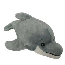 "Ganz Webkinz Gray White Bottlenose Dolphin Stuffed Animal HM220 No Code 10.5"" - $9.94"
