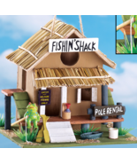 Fishing Shack Birdhouse - $22.75