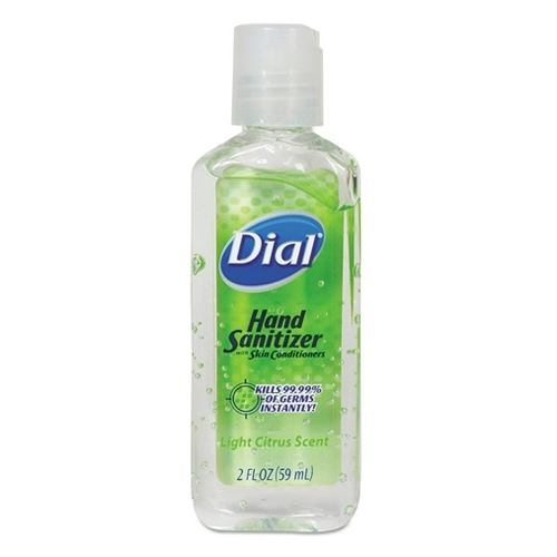 Dial Hand Sanitizer 2oz Bottle Hand Gel Sanitizers no soap need Ship from USA