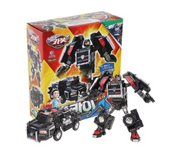 Hello Carbot Sky SWAT X Transformation Action Figure Police Car Vehicle Toy image 5