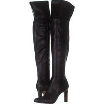 Franco Sarto Katie Over-the-Knee Boots 828, Black, 6 US / 36 EU - $41.27