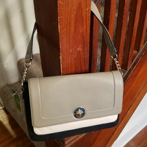 Kate Spade New York Mansfield Navy Cream Lottie Shoulder Bag NWT Retails... - $247.50
