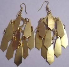 Gold Multi-dangle Earrings (Wholesale Lot) 12 p... - $18.27