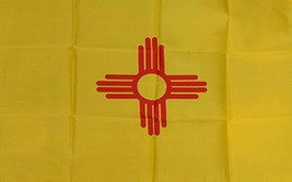 New Mexico State Flag 3ft x 5ft Quakity Banner made in USA - $10.88