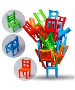 18PCS Balance Stacking Chairs Building Blocks Hand-eye Coordination Inte... - $5.99