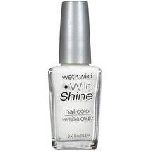 Wet n Wild Wild Shine Nail Color C449C French White Creme by Wet 'n Wild - $4.27