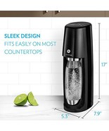SodaStream Fizzi One Touch Sparkling Water Maker Bundle (Black) with CO2... - $179.99
