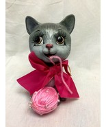 Katherine's Collection Gray Cat Christmas  28-28736 - $35.99