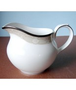 Royal Doulton Abbey Hall Creamer Champagne Banded Made in England New - $32.90