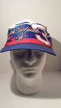 dale earnhardt jr #3 baseball cap hat Snap Back Red White Blue - $28.21