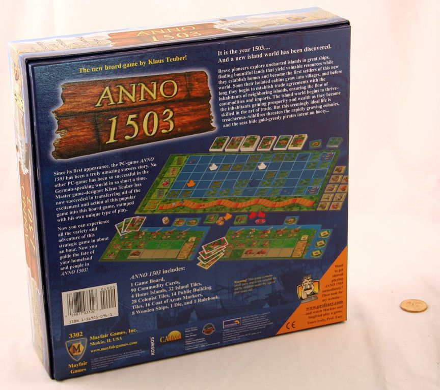 ANNO 1503 by Mayfair Games (MIB/NEW)