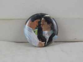 Retro Movie Pin - Donnie Darko - Donnie and Gretchen - Celluloid Pin  - $15.00