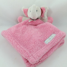 Gray Elephant Baby Girl Security Blanket Blankets and Beyond Pink Lovey ... - $19.75 CAD