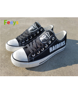 Oakland raiders shoes oakland raiders sneakers super bowl fashion birthd... - $55.00+