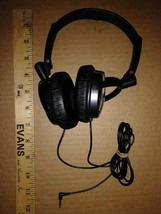 8HH51 Sony MDR-NC7 Headphones, 3.5MM Plug, Sound Great, Sold As Is - $9.89