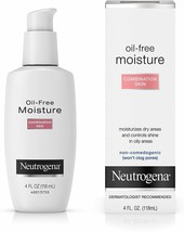 Neutrogena Oil Free Moisture Glycerin Face Moisturizer & Neck Cream   - $8.90