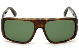 Tom Ford Men's DUKE Sunglasses TF0754 52N Dark Havana Green FT0754 NEW 59mm - $196.02