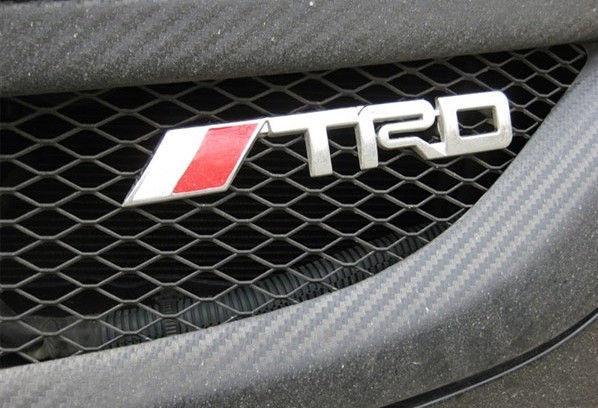 trd emblem toyota front hood grille badge badge rav4 crown reiz corolla camry emblems. Black Bedroom Furniture Sets. Home Design Ideas