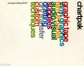 Chartpak Catalog,1986 Spiral-Bound;Drafting;Transfers;Graphics;Custom Te... - $39.99