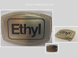 ETHYL Reproduction Belt Buckle NEW Americana - $5.99
