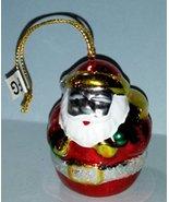Avon Brilliant Festive Santa Christmas Ornament - $9.89