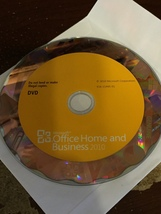 Microsoft Office 2010 Home and Business Office H&B Home&Business. With K... - $80.00