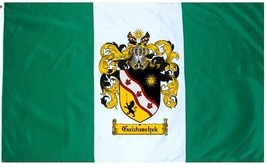 Gaiduschek Coat of Arms Flag / Family Crest Flag - $29.99
