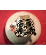 THE ORIGINAL Aviator Skull MC/Ring sterling silver - $59.00