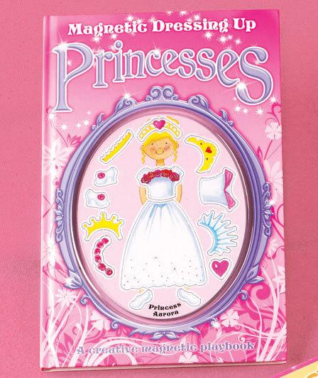 Princesses Magnetic Dress-Up Book