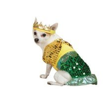 Zack & Zoey Lil' Furrmaid Dog Costume, Large, Gold - ₹3,276.40 INR