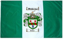 Elder Coat of Arms Flag / Family Crest Flag - $29.99