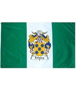 Fonseca Coat of Arms Flag / Family Crest Flag - $29.99