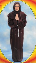 BROWN MONK ROBE ADULT SIZE  - $45.00