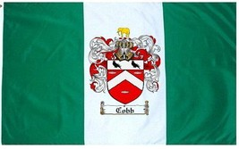 Cobb Coat of Arms Flag / Family Crest Flag - $29.99