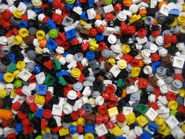 x25 LEGO 1x1 PIECES flats plates dots square or... - $1.41 - $3.54
