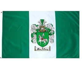 Macaffery Coat of Arms Flag / Family Crest Flag - $29.99