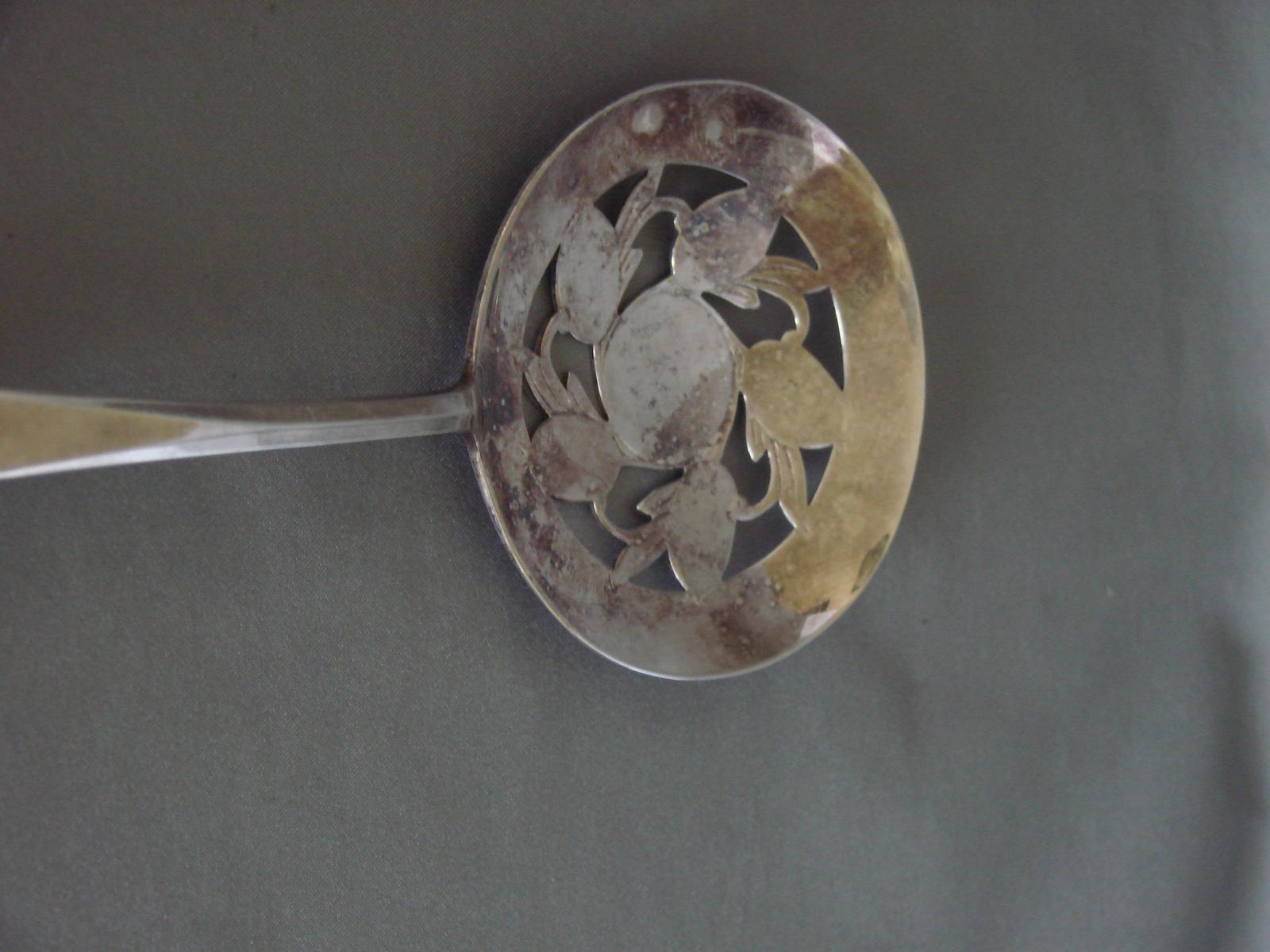 Vintage Silverplate Tomato Serving Spoon Wm. Rogers Mfg. Co. Original Rogers