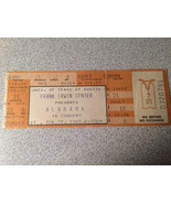 Alabama Ticket Stub Unscalloped Unused 1987 Austin Texas Scalper loss - $4.95