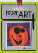 CLEARANCE Jack #3 Fridge Art Magnet cross stitch chart Amy Bruecken Designs - $6.00