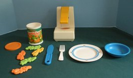 Vtg. Fisher Price Fun-with-Food #2112 Pop Top C... - $35.00