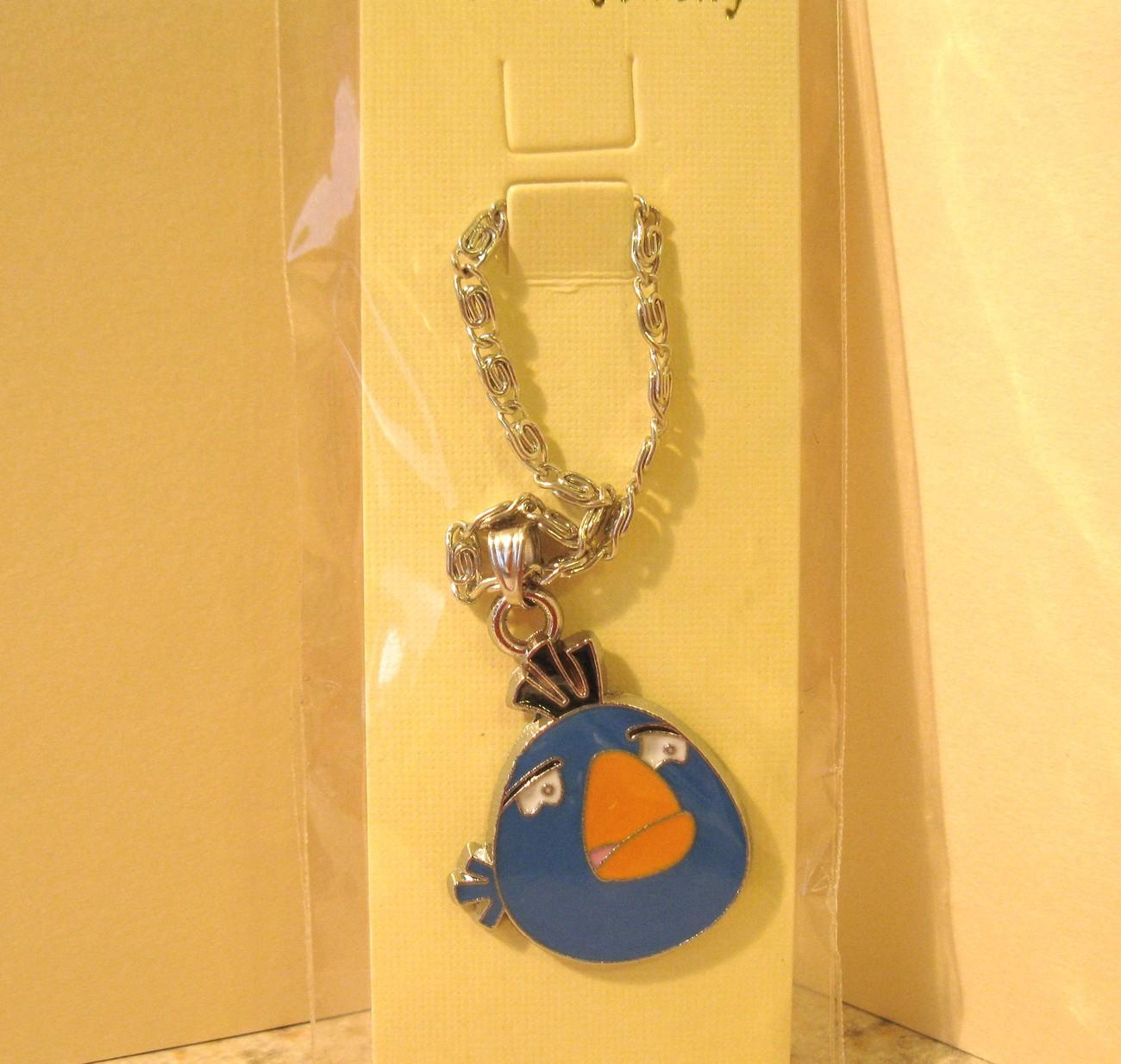 627 blue sad bird