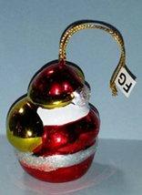 Avon Brilliant Festive Santa Christmas Ornament image 2
