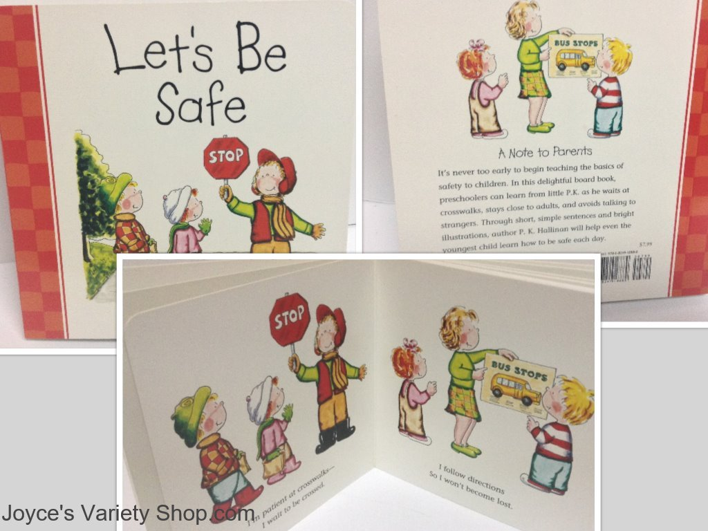 Let s be safe book collage