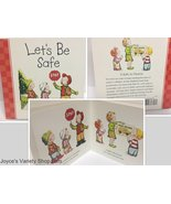 LET'S BE SAFE Children's Board Book NEW ISBN 9780824918880 - $6.99