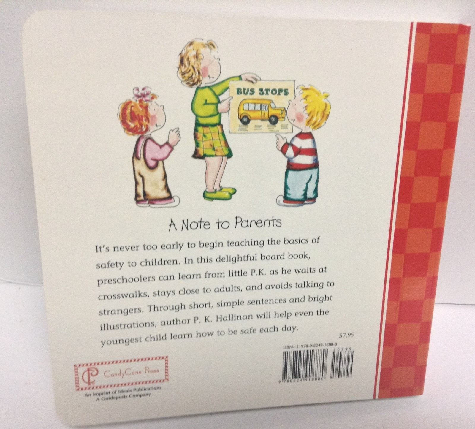 LET'S BE SAFE Children's Board Book NEW ISBN 9780824918880