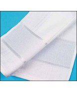 White Elegance 16ct Hand Towel 32x20 100% cotton STS Crafts - $8.00