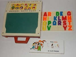 Fisher Price 1974 School Days Desk #176  - $39.59